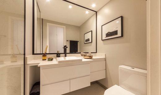 Banheiro - Apartamento à venda Rua Girassol,Vila Madalena, Zona Oeste,São Paulo - R$ 1.180.492 - II-2067-7208 - 12