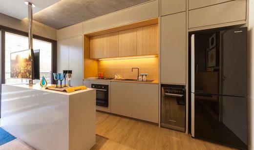 Cozinha - Apartamento à venda Rua Girassol,Vila Madalena, Zona Oeste,São Paulo - R$ 1.180.492 - II-2067-7208 - 16