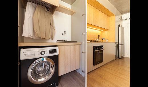 Area de servico - Apartamento à venda Rua Girassol,Vila Madalena, Zona Oeste,São Paulo - R$ 1.180.492 - II-2067-7208 - 17