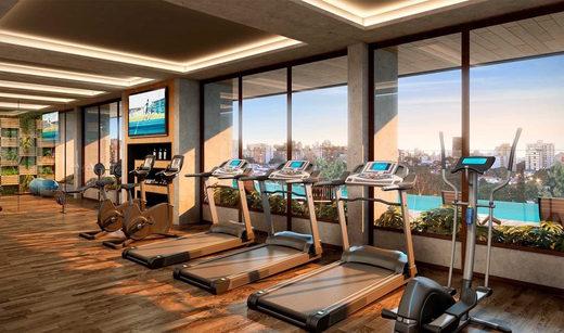 Fitness - Apartamento à venda Rua Girassol,Vila Madalena, Zona Oeste,São Paulo - R$ 1.180.492 - II-2067-7208 - 18