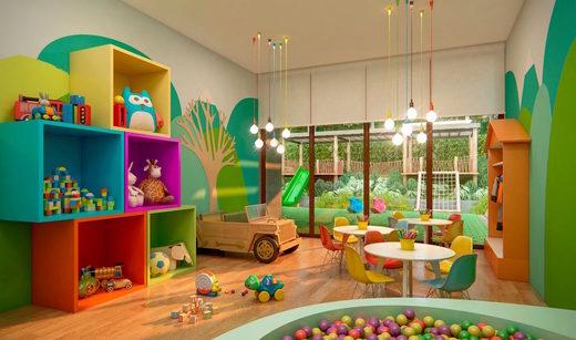 Brinquedoteca - Apartamento à venda Rua Girassol,Vila Madalena, Zona Oeste,São Paulo - R$ 1.180.492 - II-2067-7208 - 19