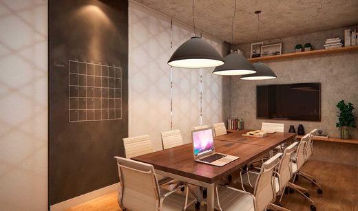 Business place - Apartamento à venda Rua Girassol,Vila Madalena, Zona Oeste,São Paulo - R$ 1.180.492 - II-2067-7208 - 22