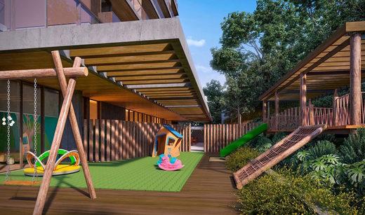 Playground - Apartamento à venda Rua Girassol,Vila Madalena, Zona Oeste,São Paulo - R$ 1.180.492 - II-2067-7208 - 24
