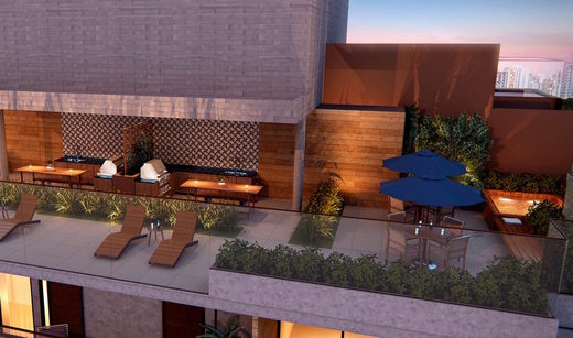 Area de lazer - Apartamento à venda Rua Girassol,Vila Madalena, Zona Oeste,São Paulo - R$ 1.180.492 - II-2067-7208 - 26