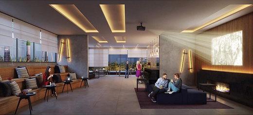 Lounge - Fachada - Z. Cotovia Residencial - 68 - 14