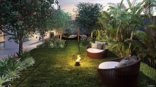 Jardim e estar - Fachada - IS Moema - 69 - 18