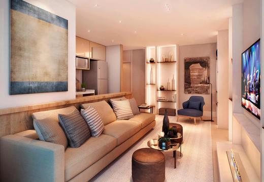 Living decorado - Fachada - Chez Vous Moema - 73 - 5