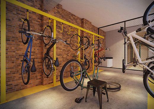 Bicicletario - Fachada - Up Home Vila Mascote - 396 - 6