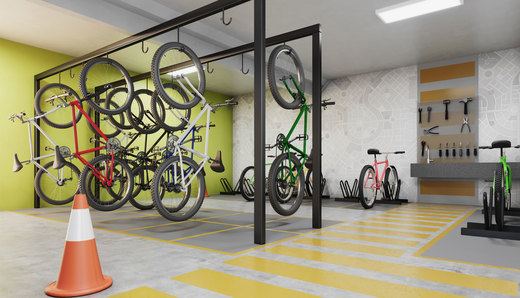 Bicicletario - Fachada - Brooklin Sky Mark - 398 - 9