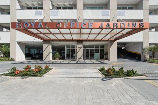 Portaria - Fachada - Royal Office Jardins - 411 - 3