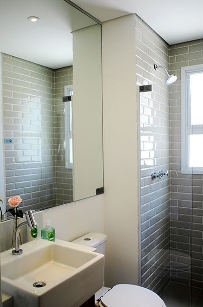 Banheiro - Fachada - Elev Pompeia - 413 - 13
