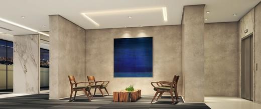 Hall - Apartamento à venda Avenida Duque de Caxias,Santa Cecília, São Paulo - R$ 802.010 - II-2402-7887 - 3