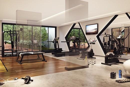 Fitness - Apartamento à venda Avenida Duque de Caxias,Santa Cecília, São Paulo - R$ 802.010 - II-2402-7887 - 8