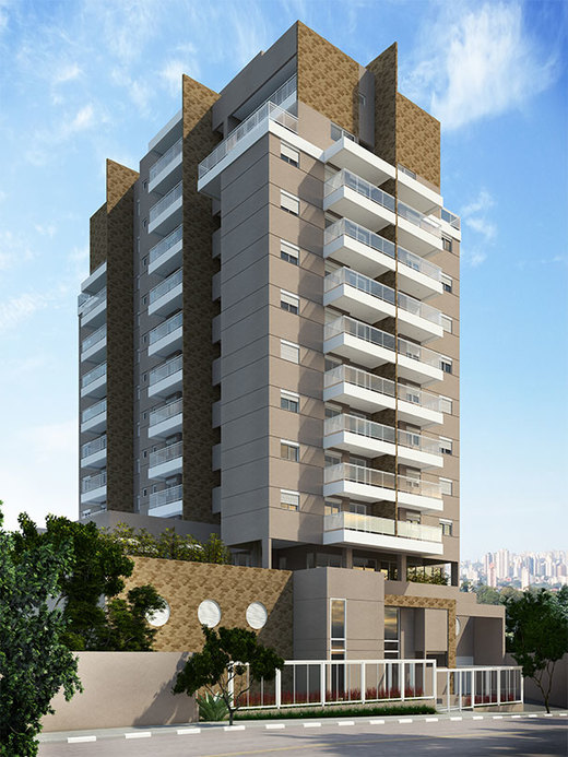 Fachada - Apartamento 2 quartos à venda Saúde, São Paulo - R$ 710.134 - II-2447-8011 - 1
