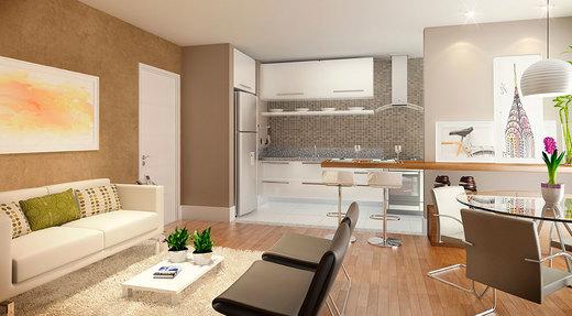 Living - Apartamento 2 quartos à venda Saúde, São Paulo - R$ 710.134 - II-2447-8011 - 5