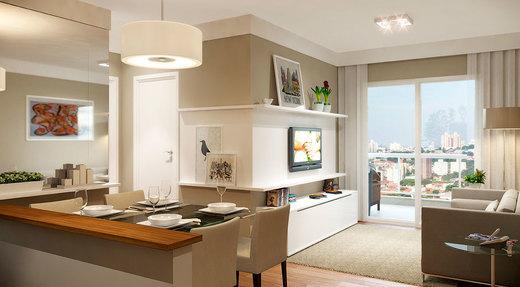 Living - Apartamento 2 quartos à venda Saúde, São Paulo - R$ 710.134 - II-2447-8011 - 6