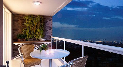 Varanda - Apartamento 2 quartos à venda Saúde, São Paulo - R$ 710.134 - II-2447-8011 - 7
