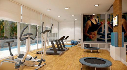 Fitness - Apartamento 2 quartos à venda Saúde, São Paulo - R$ 710.134 - II-2447-8011 - 8