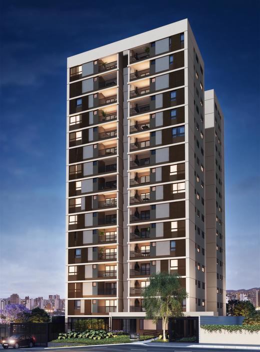 Fachada - Apartamento à venda Rua Paulo Franco,Vila Leopoldina, São Paulo - R$ 1.370.628 - II-2477-8089 - 1