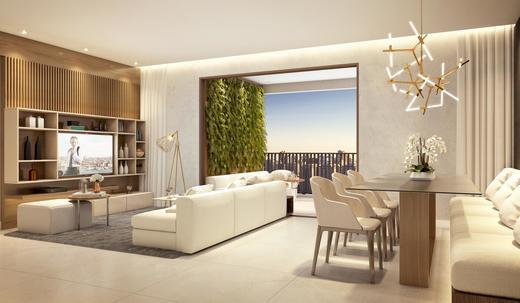 Living - Apartamento à venda Rua Paulo Franco,Vila Leopoldina, São Paulo - R$ 1.370.628 - II-2477-8089 - 6
