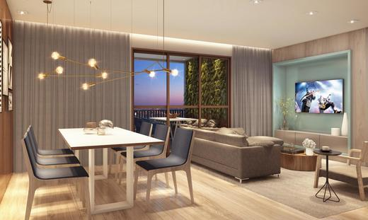 Living - Apartamento à venda Rua Paulo Franco,Vila Leopoldina, São Paulo - R$ 1.370.628 - II-2477-8089 - 7