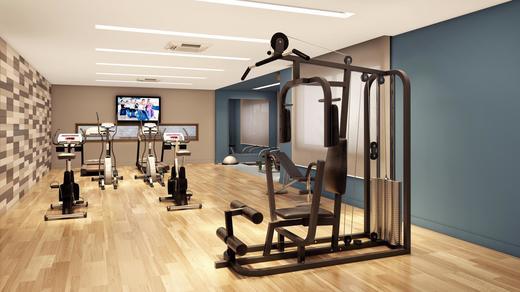 Fitness - Apartamento à venda Rua Paulo Franco,Vila Leopoldina, São Paulo - R$ 1.370.628 - II-2477-8089 - 9
