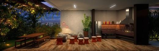 Churrasqueira - Studio à venda Rua Dionísio da Costa,Vila Mariana, São Paulo - R$ 645.200 - II-2596-8316 - 20