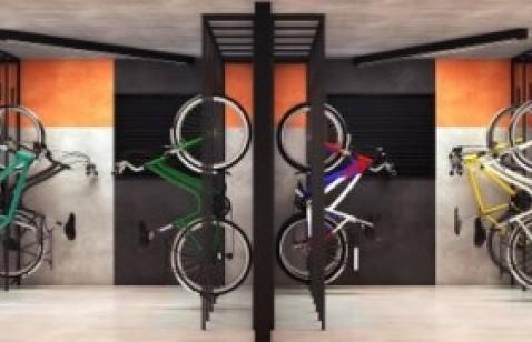 Bicicletario - Fachada - Viva Benx Nações Unidas - 437 - 8