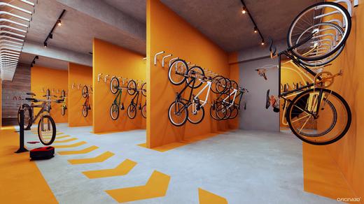 Bicicletario - Fachada - Moov Estação Brás - 447 - 16