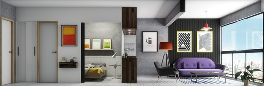 Living - Fachada - Pompéia 349 - 449 - 6