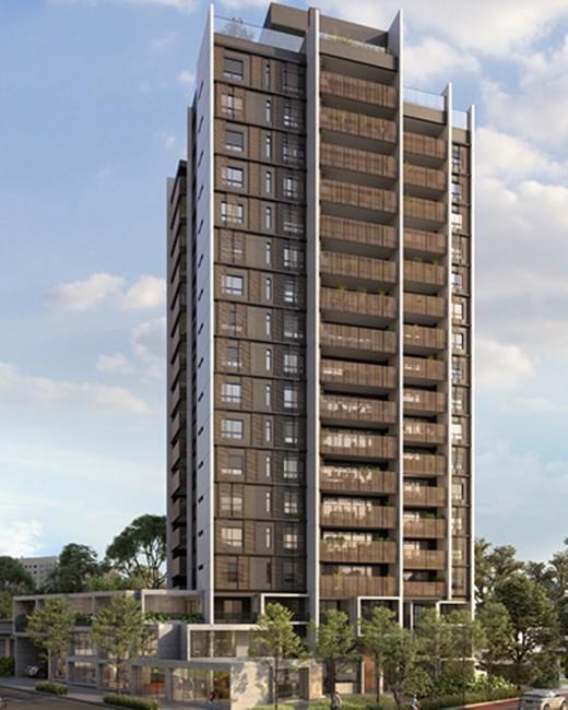 Fachada - Studio à venda Avenida Iraí,Moema, São Paulo - R$ 709.800 - II-2720-9250 - 1