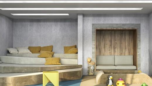 Espaco kids - Studio à venda Avenida Iraí,Moema, São Paulo - R$ 709.800 - II-2720-9250 - 9