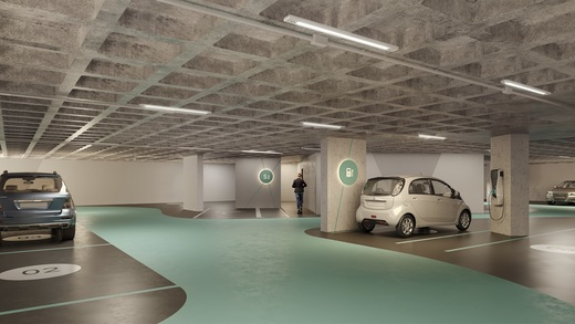 Garagem - Studio à venda Avenida Iraí,Moema, São Paulo - R$ 709.800 - II-2720-9250 - 14
