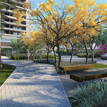 Boulevard - Fachada - The Gardens Reserva Tatuapé - 105 - 16