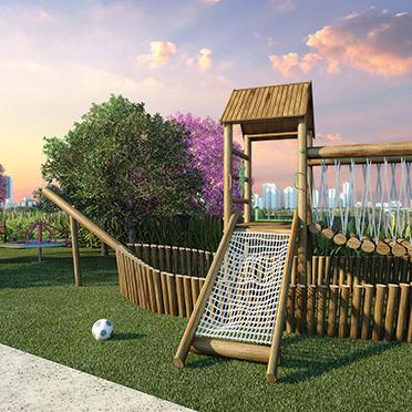 Playground - Fachada - The Gardens Reserva Tatuapé - 105 - 19