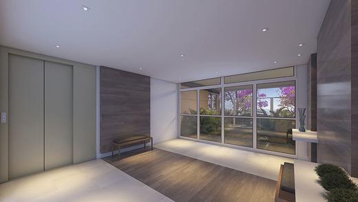 Hall - Apartamento à venda Rua Mário Schioppa,Saúde, São Paulo - R$ 425.000 - II-2808-8834 - 3