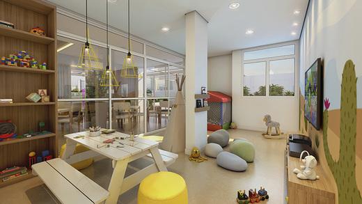 Brinquedoteca - Apartamento à venda Rua Mário Schioppa,Saúde, São Paulo - R$ 425.000 - II-2808-8834 - 6