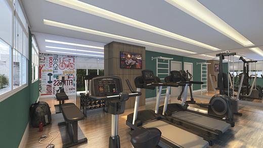 Fitness - Apartamento à venda Rua Mário Schioppa,Saúde, São Paulo - R$ 425.000 - II-2808-8834 - 9