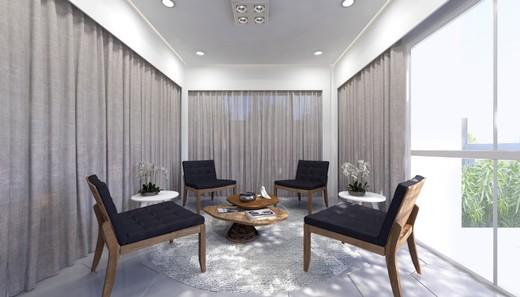 Hall - Cobertura 1 quarto à venda Aclimação, São Paulo - R$ 1.019.500 - II-2810-8840 - 3