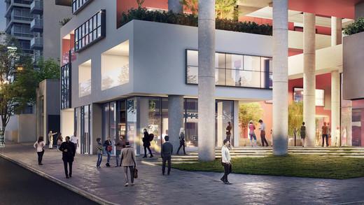 Acesso comerciais - Sala Comercial 90m² à venda Rua Cristiano Viana,Pinheiros, São Paulo - R$ 1.353.700 - II-2813-8859 - 4