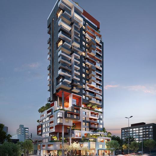 Fachada - Apartamento 1 quarto à venda Pinheiros, São Paulo - R$ 679.700 - II-2812-8846 - 1