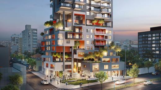 Fachada - Apartamento 1 quarto à venda Pinheiros, São Paulo - R$ 679.700 - II-2812-8846 - 2