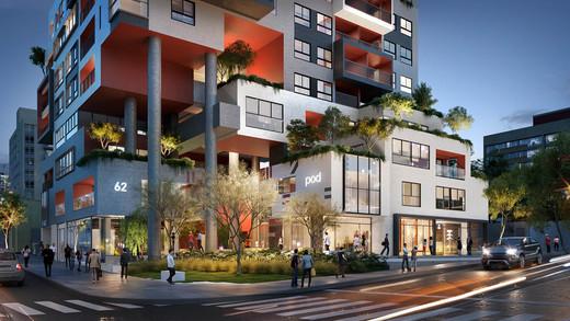 Fachada - Apartamento 1 quarto à venda Pinheiros, São Paulo - R$ 679.700 - II-2812-8846 - 3