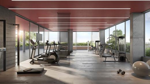 Fitness - Apartamento 1 quarto à venda Pinheiros, São Paulo - R$ 679.700 - II-2812-8846 - 4