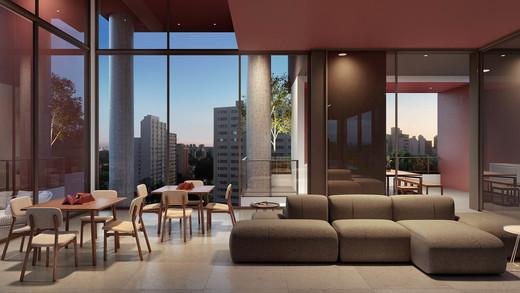 Salao de festas - Apartamento 1 quarto à venda Pinheiros, São Paulo - R$ 679.700 - II-2812-8846 - 5