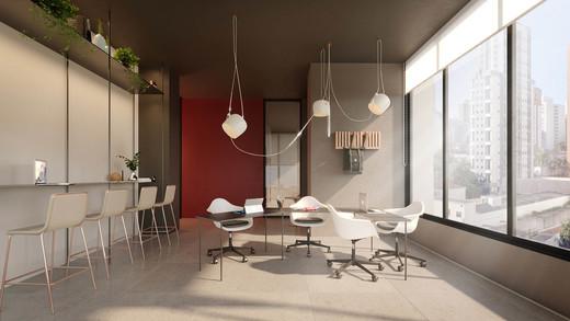 Coworking - Apartamento 1 quarto à venda Pinheiros, São Paulo - R$ 679.700 - II-2812-8846 - 7