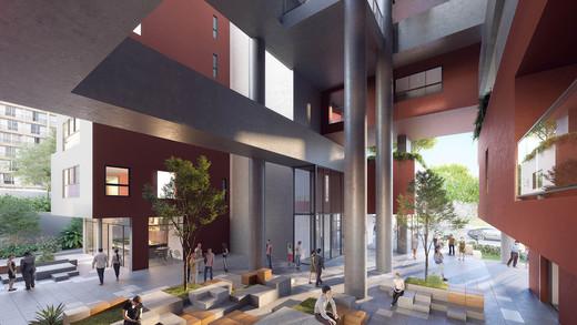 Circulacao - Apartamento 1 quarto à venda Pinheiros, São Paulo - R$ 679.700 - II-2812-8846 - 8
