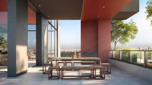 Espaco gourmet - Apartamento 1 quarto à venda Pinheiros, São Paulo - R$ 679.700 - II-2812-8846 - 9