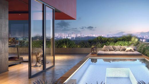 Lazer terraco - Apartamento 1 quarto à venda Pinheiros, São Paulo - R$ 679.700 - II-2812-8846 - 11