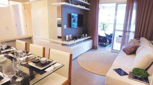Living - Apartamento à venda Rua Dias de Toledo,Saúde, São Paulo - R$ 1.155.962 - II-2852-8916 - 3